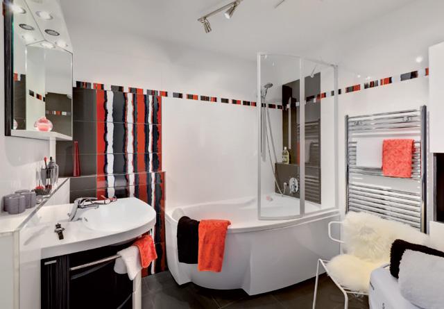 Diseno De Baños Medianos:cuarto de baño se utilizaron los productos ravak bañera rosa 95 de