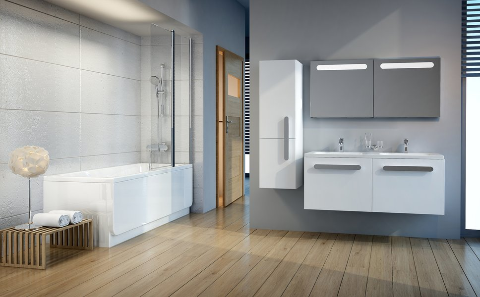Soluciones para los cuartos de baño más grandes - RAVAK a.s.