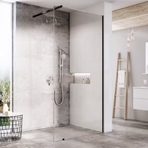 Mampara de baño Walk-In, modelo Wall